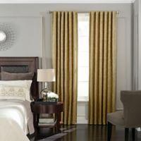 Beautyrest® Germaine 63-Inch Room Darkening Rod Pocket/Back Tab Window Curtain Panel in Gold