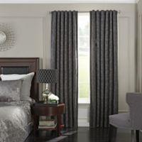 Beautyrest® Germaine 95-Inch Room Darkening Rod Pocket/Back Tab Window Curtain Panel in Grey