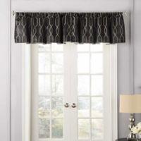 Beautyrest® Yvon Rod Pocket Room Darkening Window Valance in Black