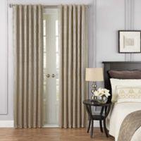 Beautyrest® Yvon 84-Inch Rod Pocket/Back Tab Room Darkening Window Curtain Panel in Champagne