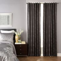Beautyrest® Avignon 95-Inch Room Darkening Rod Pocket/Back Tab Window Curtain Panel in Grey