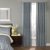 Beautyrest® Avignon 63-Inch Room Darkening Rod Pocket/Back Tab Window Curtain Panel in Blue