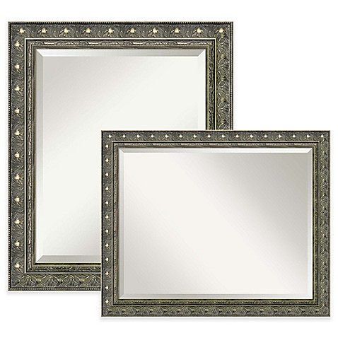 Barcelona bathroom mirror in champagne bed bath beyond - Bed bath and beyond bathroom vanity ...