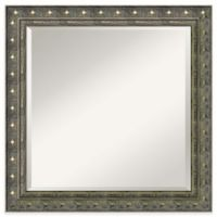 Amanti Barcelona 24-Inch Square Bathroom Wall Mirror in Champagne