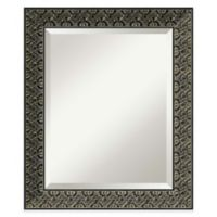 Intaglio 20-Inch x 24-Inch Wall Mirror in Antique Black
