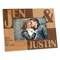 Because of You 4-Inch x 6-Inch Photo Frame