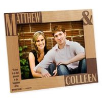 Because of You 8-Inch x 10-Inch Photo Frame