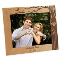 Carved In Love 8-Inch x 10-Inch Picture Frame