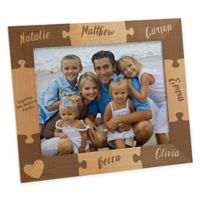 Together we Make a Family Engraved 8-Inch x 10-Inch Picture Frame