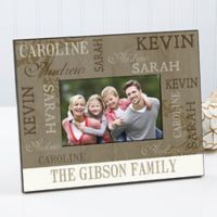 Our Loving Family Wedding Picture Frame