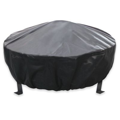 landmann usa bromley fire pit cover in black