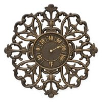 Whitehall Products Filigree Outdoor Thermometer in Aged Bronze