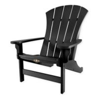 Pawleys Island® Sunrise Adirondack Chair in Black