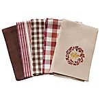 Gather Harvest Kitchen Towels (Set of 5)
