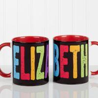 All Mine 11 oz. Coffee Mug in Red