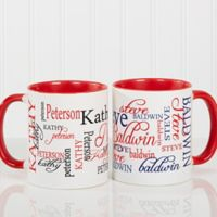Signature Style 11 oz. Coffee Mug in Red