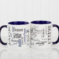 Signature Style 11 oz. Coffee Mug in Blue