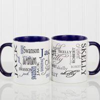 Signature Style 11 oz. Coffee Mug in Blue