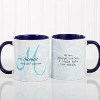Name Meaning 11 oz. Coffee Mug in Blue