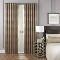 Beautyrest® LaSalle 108-Inch Room Darkening Rod Pocket/Back Tab Window Curtain Panel in Taupe