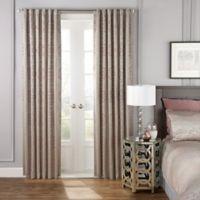 Beautyrest® LaSalle 108-Inch Room Darkening Rod Pocket/Back Tab Window Curtain Panel in Ivory