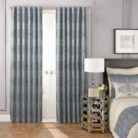 Beautyrest® LaSalle 63-Inch Room Darkening Rod Pocket/Back Tab Window Curtain Panel in Blue