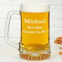 Groomsmen 25 oz. Beer Mug