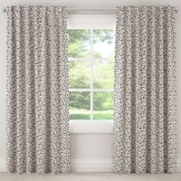 Skyline Furniture Neo Leo 84-Inch Blackout Rod Pocket Window Curtain Panel Pair in Cream