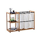 Trinity EcoStorage™ 3-Bag Laundry Station in Bamboo