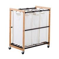 Trinity EcoStorage™ 3-Bag Laundry Cart in Bronze