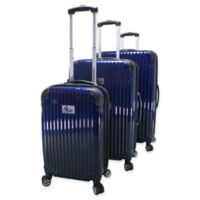 Piel® Leather Paola 3-Piece Luggage Set in Navy