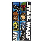 Star Wars™ Beach Towel in Blue