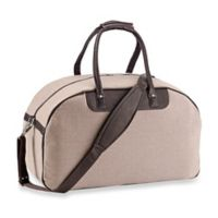 Piel® Leather 20-Inch Satchel Travel Bag in Chocolate