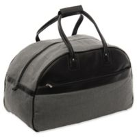 Piel® Leather 20-Inch Satchel Travel Bag in Black