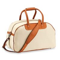 Piel® Leather 20-Inch Satchel Travel Bag in Saddle