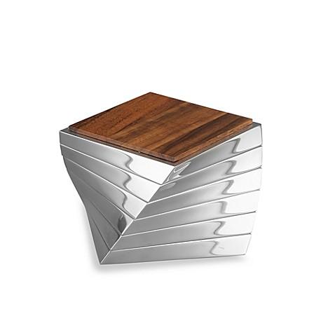 nambe twist coasters set of 6 bed bath beyond. Black Bedroom Furniture Sets. Home Design Ideas