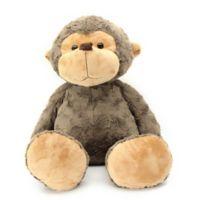 Jumbo Biscuit Friends Monkey Plush in Brown