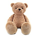 Animal Adventure Jumbo Biscuit Bear Plush in Tan