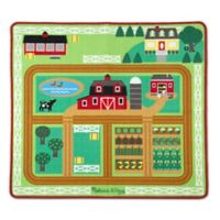 Melissa & Doug® Round the Barnyard Farm Play Rug