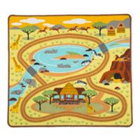 Melissa & Doug® Round the Savanna Safari Play Rug