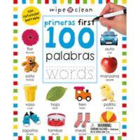 "Wipe Clean ""Primeras First 100 Palabas / Words"""