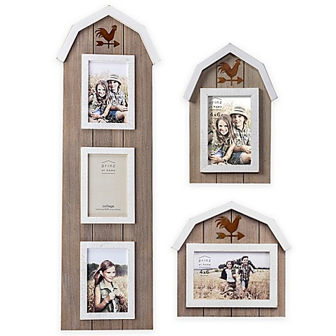 Prinz On The Farm Wood Picture Frame In Barn Natural With Rooster