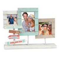 Grasslands Road® 3-Photo Pool Side Collage Picture Frame