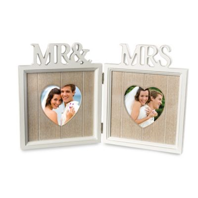 grasslands road 2 photo mr mrs picture frame - Mr And Mrs Photo Frame