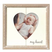"Grasslands Road® 4-Inch x 4-Inch ""My Heart"" Picture Frame"