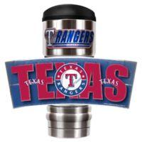 MLB Texas Rangers MVP Vacuum Insulated 18 oz. Stainless Steel Travel Tumbler