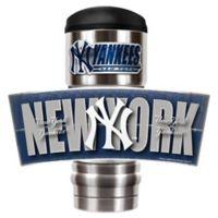 MLB New York Yankees MVP Vacuum Insulated 18 oz. Stainless Steel Travel Tumbler