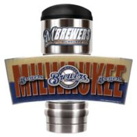MLB Milwaukee Brewers MVP Vacuum Insulated 18 oz. Stainless Steel Travel Tumbler