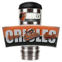 MLB Baltimore Orioles MVP Vacuum Insulated 18 oz. Stainless Steel Travel Tumbler