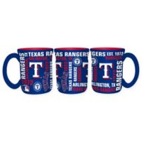 MLB Texas Rangers 17 oz. Sculpted Spirit Mug